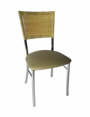 VL - 02 (Cadeira Cromada Fibra)